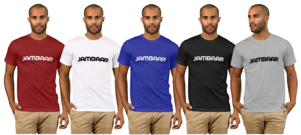 "Lot de 5 t-shirts homme ""JAMBAAR"""